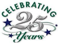 25th Anniversary Anniversaries
